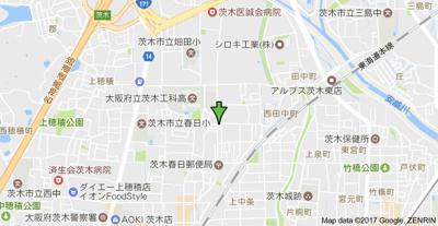 【地図】細川ビル