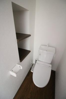 【トイレ】メゾン六甲高羽
