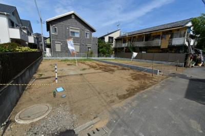 【外観】茅ヶ崎市(海側)松が丘2丁目 建築条件なし土地 A区画