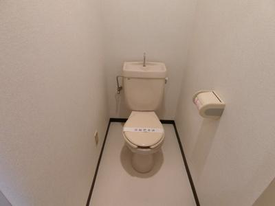 【トイレ】ヴィレッヂローデンⅡ