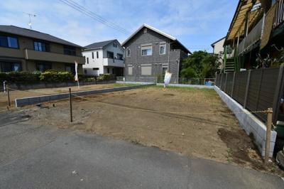【外観】茅ヶ崎市(海側)松が丘2丁目 建築条件なし土地 B区画