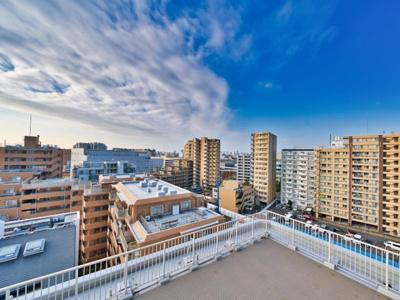 【展望】マンハイム西大島 11階 最上階 角部屋 リフォーム済