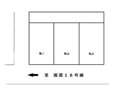 【区画図】上星川馬場駐車場