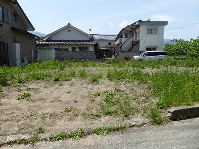 【外観】南アルプス市西野75.6坪土地