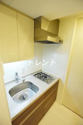 【キッチン】パークホームズ市谷薬王寺セントガレリア