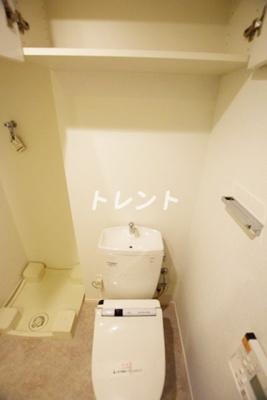 【トイレ】パークホームズ市谷薬王寺セントガレリア