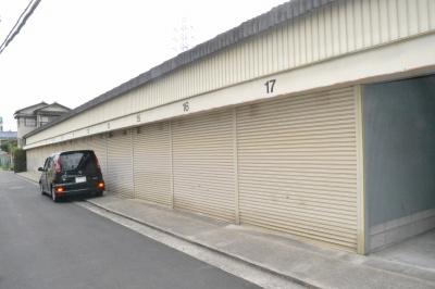 【外観】中谷倉庫・車庫