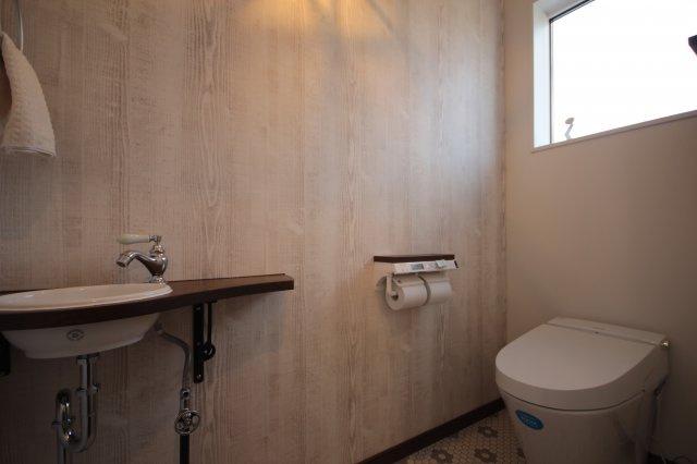 【トイレ】米沢市中央7丁目「ママエール・ZEH(ゼロエネルギーハウス)」のモデルハウス