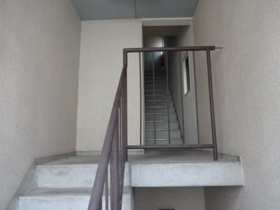 楓タウンハウス 共用階段