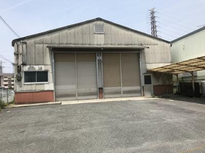 【外観】摂津市鳥飼上3丁目倉庫