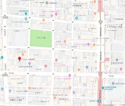 【地図】アスヴェル東本町