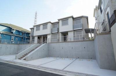 積水ハウス施工の賃貸住宅シャーメゾン☆2018年7月下旬完成予定!グリーンライン「都筑ふれあいの丘」駅より徒歩7分!2階建ての新築アパートです☆