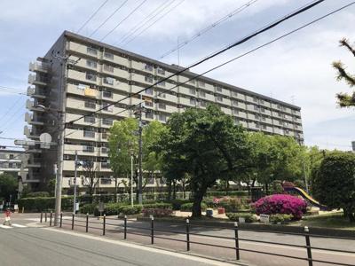 【外観】すみれ橋第2コーポ3号棟