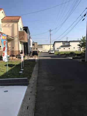 【前面道路含む現地写真】富士見ヶ丘1丁目6番23・24・25