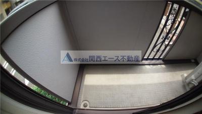 【バルコニー】コンフォート加納