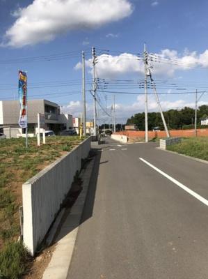 【前面道路含む現地写真】みどりの東6