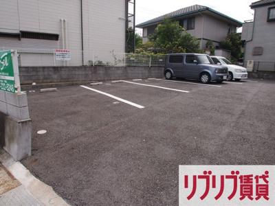 【駐車場】コーポ里