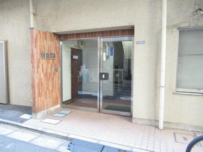 マンションの入り口です 村田ビル