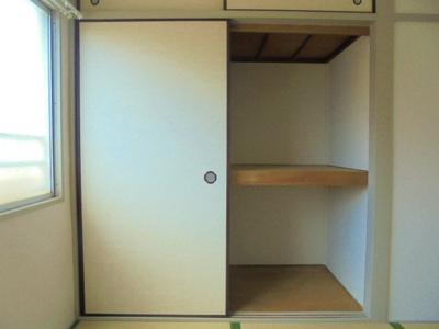和室4.5畳 押入れ