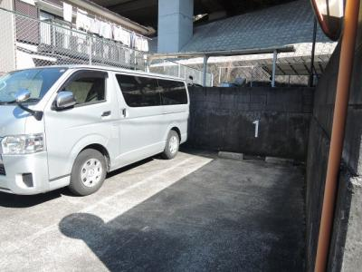 【駐車場】ライオンズマンション六ツ川第2