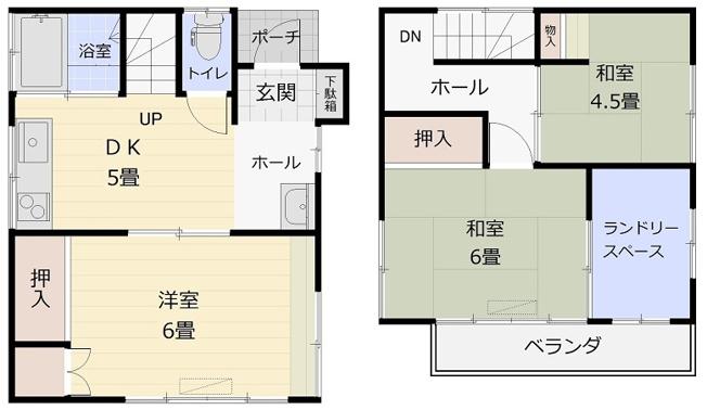 上新井5丁目貸家