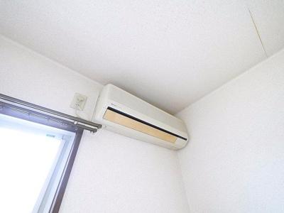 エアコン完備です。