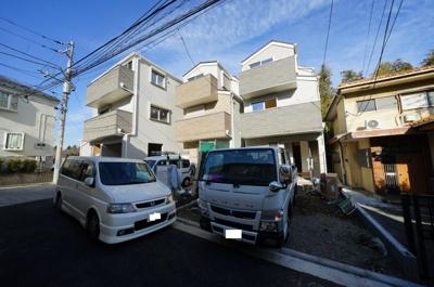 【外観】保土ヶ谷区桜ヶ丘2丁目全3棟 新築戸建て【成約】