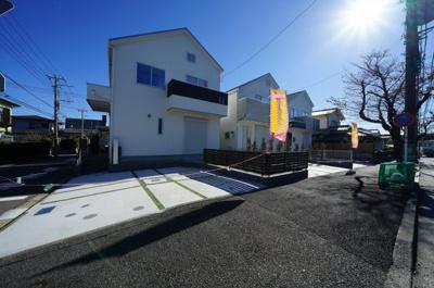【外観】保土ヶ谷区新桜ヶ丘1丁目 全3棟新築戸建て【成約】