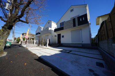 【外観】保土ヶ谷区新桜ヶ丘1丁目 全3棟新築戸建て