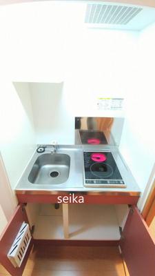 浴室は、2点ユニットタイプの浴室換気乾燥機付き。