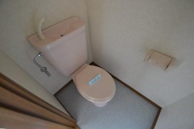 【トイレ】アミティ紫塚B