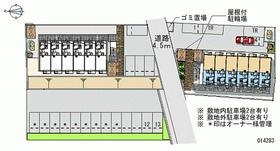 【区画図】カメリア四番館