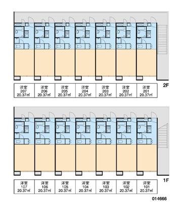 【区画図】ユーハイツ