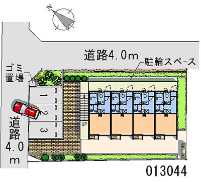 【区画図】松が岡