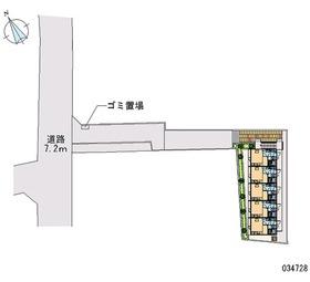 【区画図】Kエステート