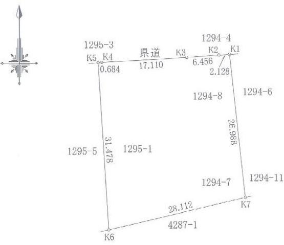 【土地図】春野町東諸木