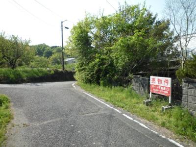 【前面道路含む現地写真】東区瀬戸町坂根 売地