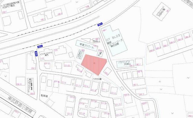 【地図】内ヶ島売地