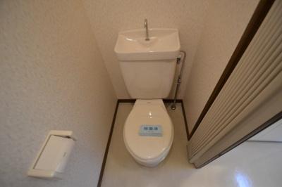【トイレ】コーポしんとみB
