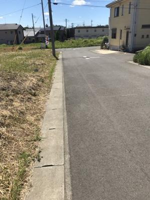 【前面道路含む現地写真】ゆめみ野5丁目23番
