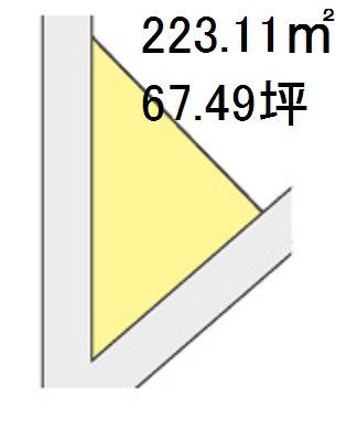 【区画図】【売地】第三中学校区・120785