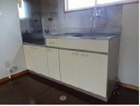 調理台もあり使いやすいキッチンです☆