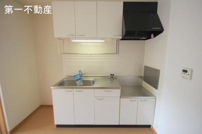 【キッチン】ウッズ・スクエアーC