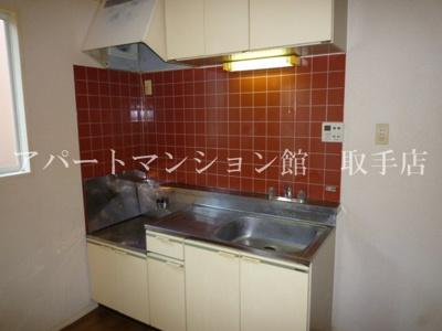【キッチン】ウエストハウスA