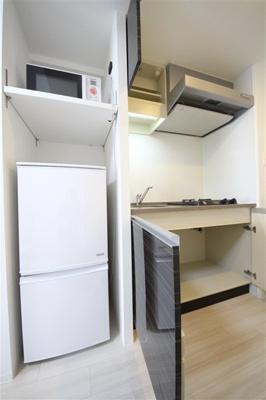 【キッチン】コンフォリア心斎橋EAST