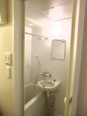 【浴室】レオパレスターク