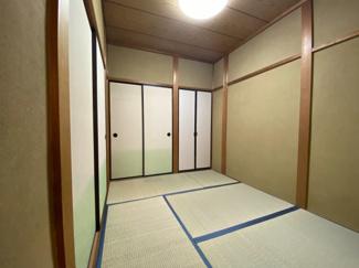 1階リビング続きの和室