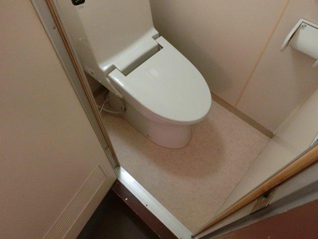 プレジデント柏原(柏原市大県) お手洗い