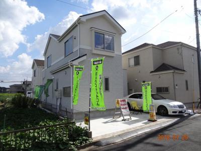 現地見学会さいたま市緑区三室 敷地広々42坪~45坪の地震に強い新築分譲住宅全3棟・残1棟の詳しい情報。外観もきれいです。