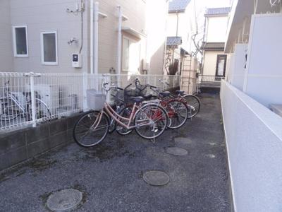 居住者専用駐輪場